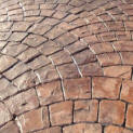Cobblestone Fan Patterns