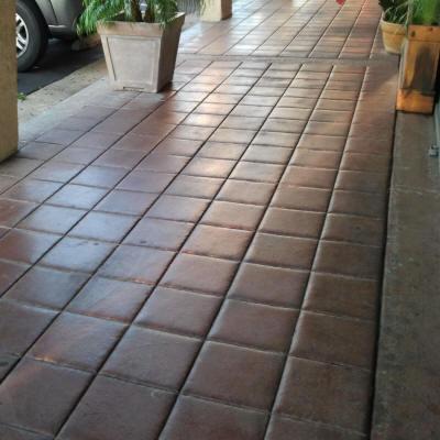 12 Quot Tile With Tooled Joints Matcrete Decorative Concrete