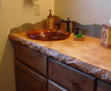Split Face Granite Countertop Edge Form| MATCRETE Decorative Concrete  Products