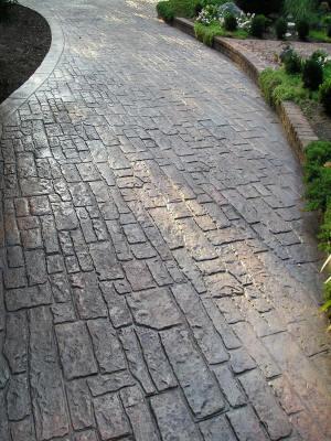 Random Cobblestone Matcrete Decorative Concrete Products