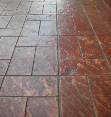 6 Quot X 12 Quot New England Weave Matcrete Decorative Concrete