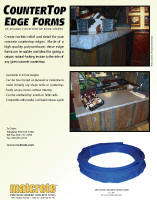 Split Face Granite Countertop Edge Forms Brochure