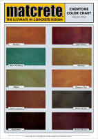 Chemtone Color Chart